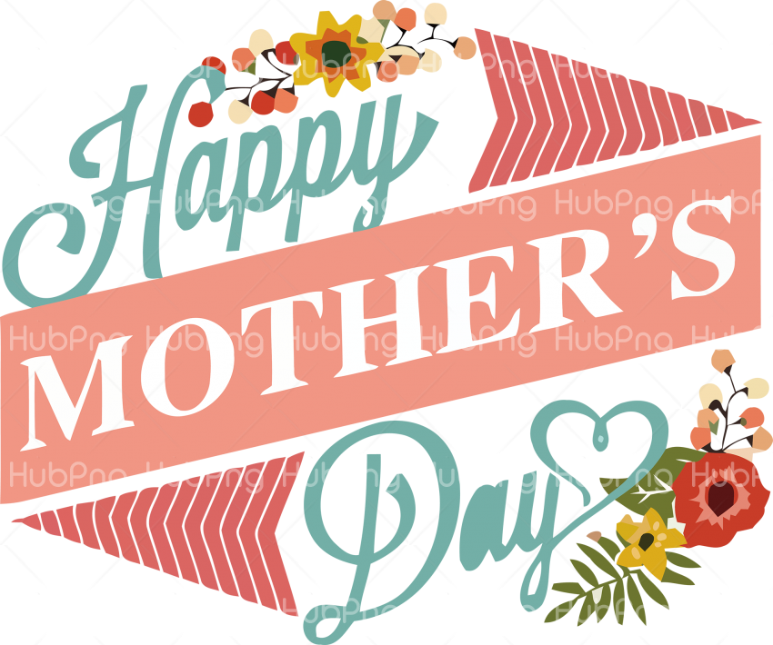 greeting Happy Mother's Day png Transparent Background Image for Free