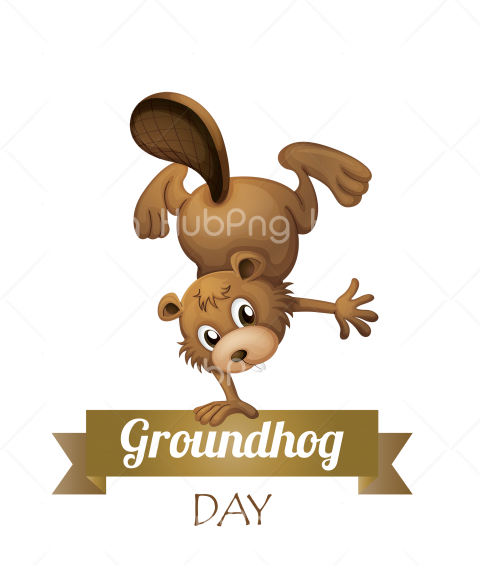 groundhog day clipart Transparent Background Image for Free