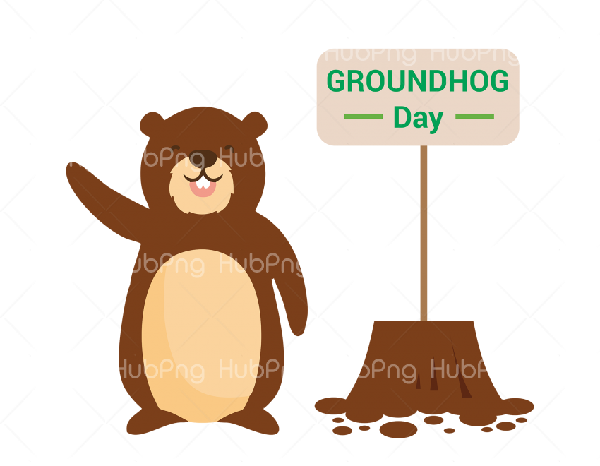groundhog day png hd Transparent Background Image for Free