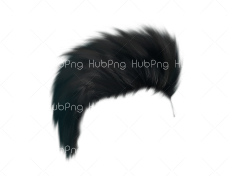 hair png editing zone Transparent Background Image for Free