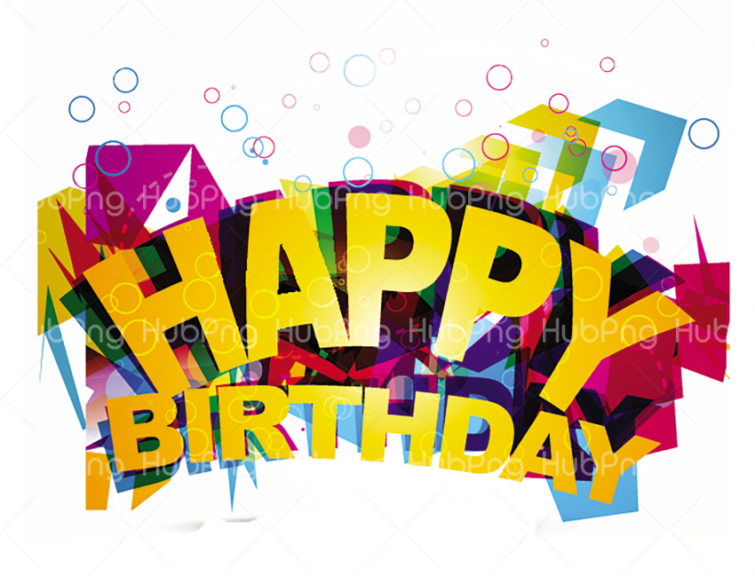 happy birthday png Transparent Background Image for Free