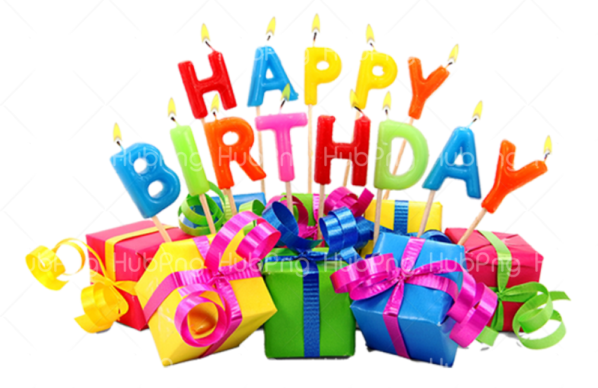 happy birthday png gift Transparent Background Image for Free