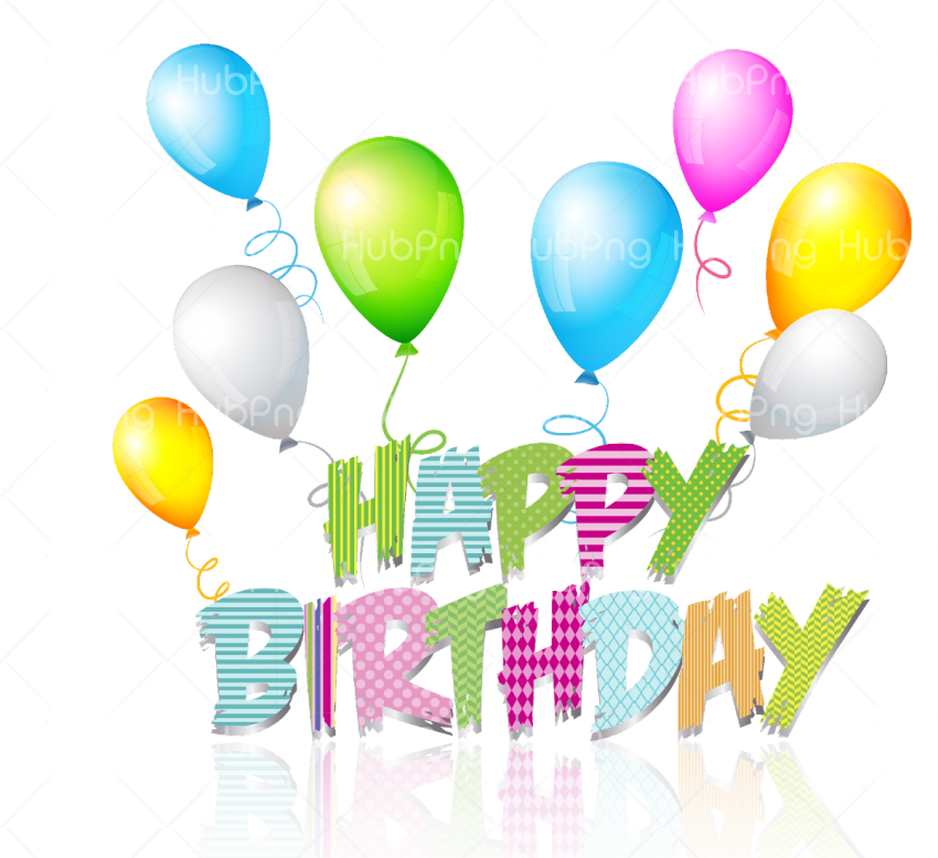 happy birthday png hd Transparent Background Image for Free