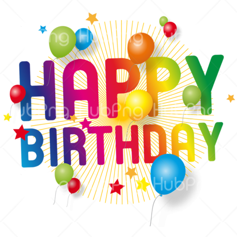 happy birthday png vector Transparent Background Image for Free