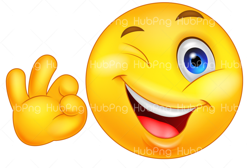 happy emoji png Transparent Background Image for Free