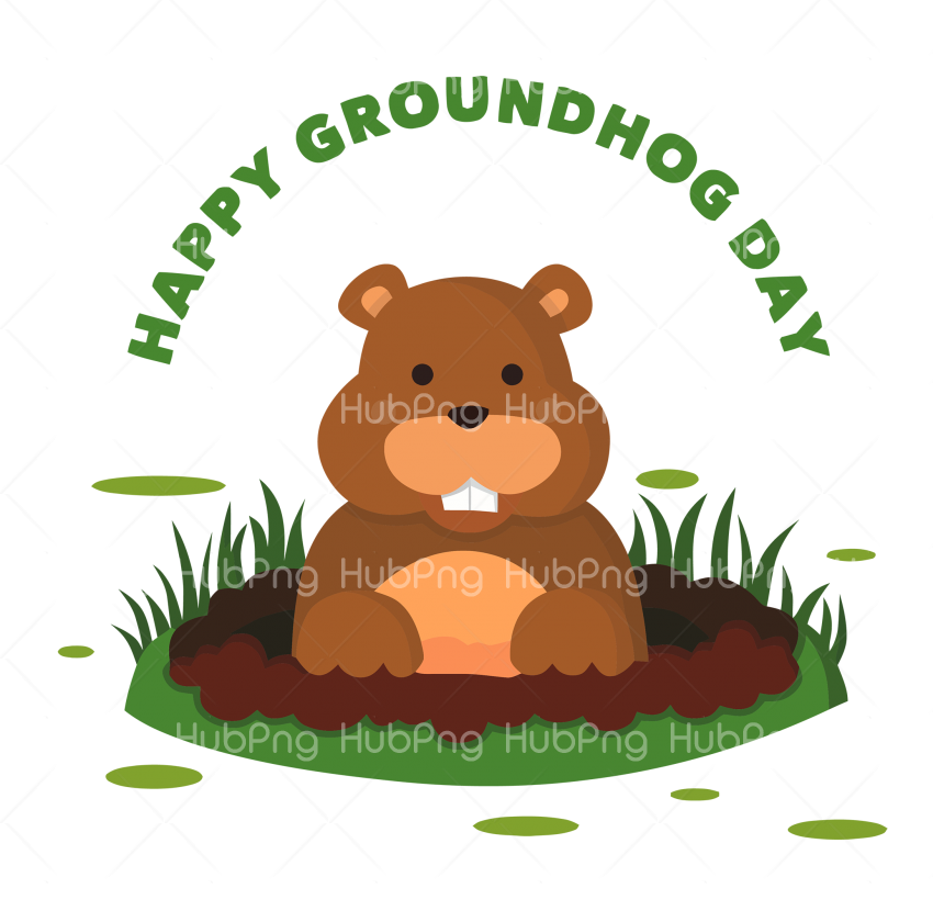 happy groundhog day png hd Transparent Background Image for Free