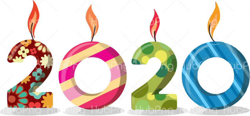 Happy New Year 2020 Happy Png 2020 Transparent Background