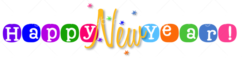 Happy New Year 2020 PNG  For Designing Transparent Background Image for Free