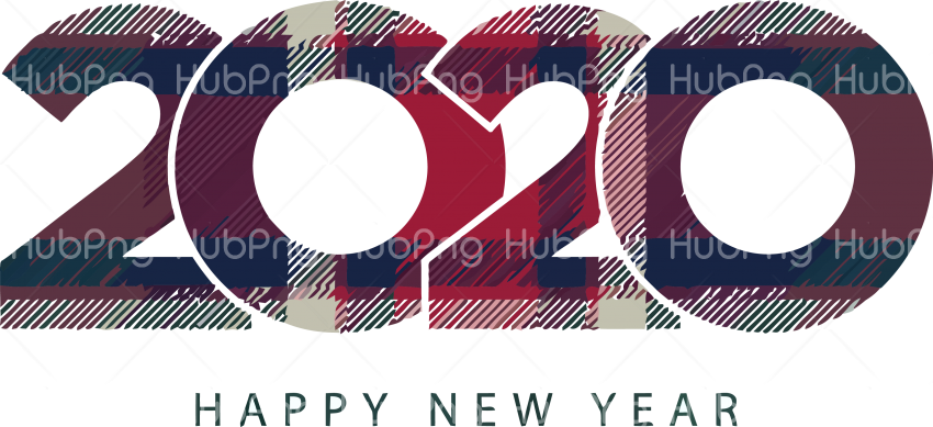 happy new year 2020 png image (2) Transparent Background Image for Free