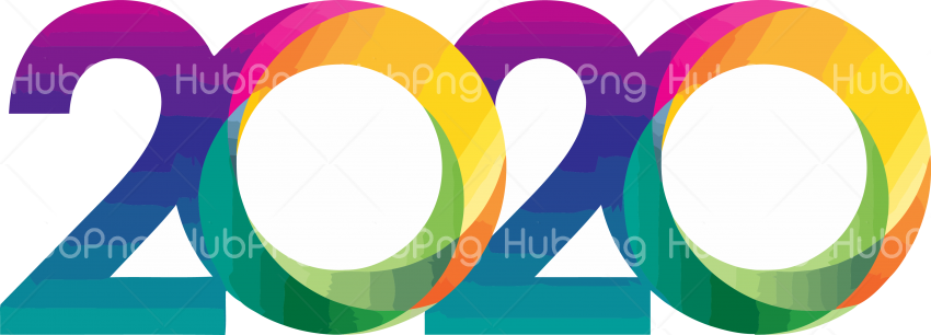 happy new year 2020 png  images Transparent Background Image for Free