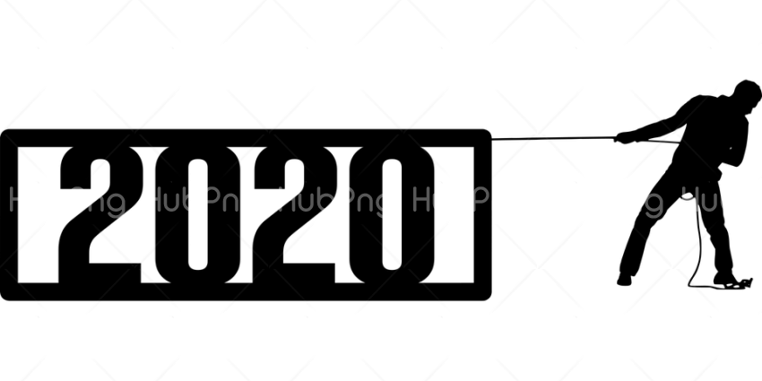 Happy New Year 2020 PNG Picture Transparent Background Image for Free