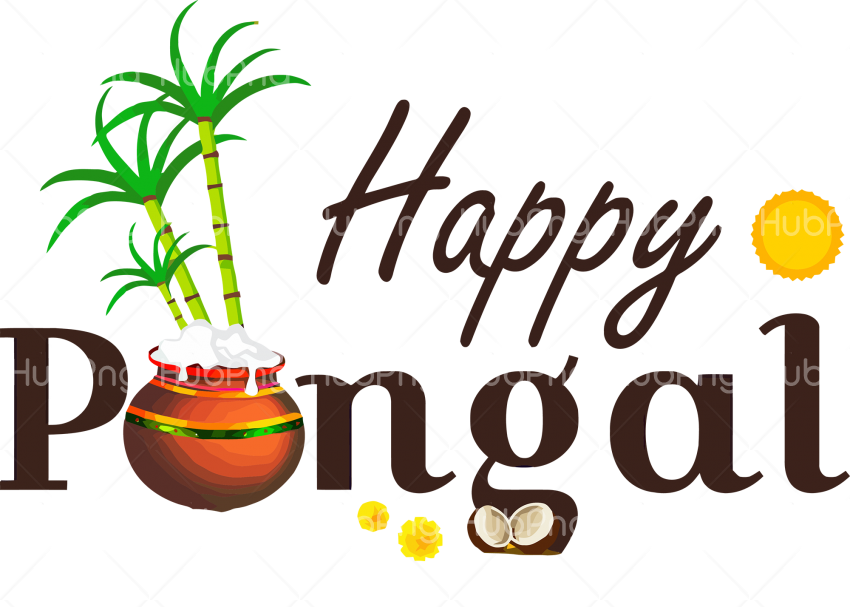 Download happy pongal png Transparent Background Image for Free