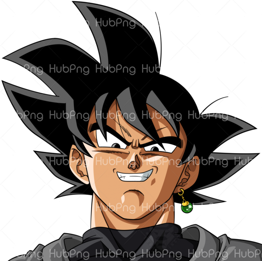 head goku face png hd clipart Transparent Background Image for Free