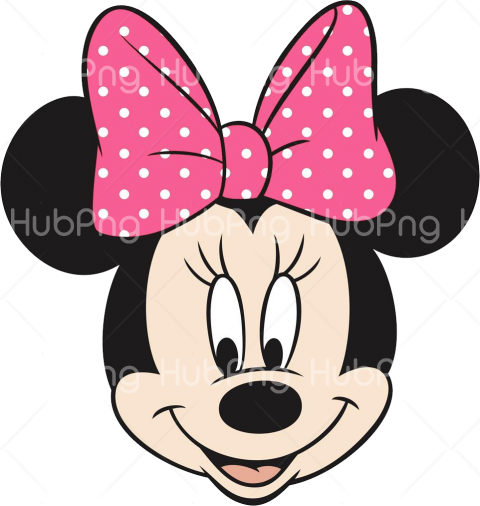 head minnie png Transparent Background Image for Free