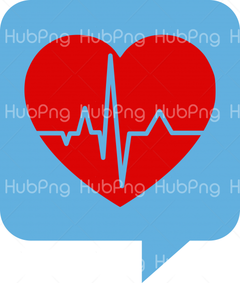 health heart png chat icon Transparent Background Image for Free