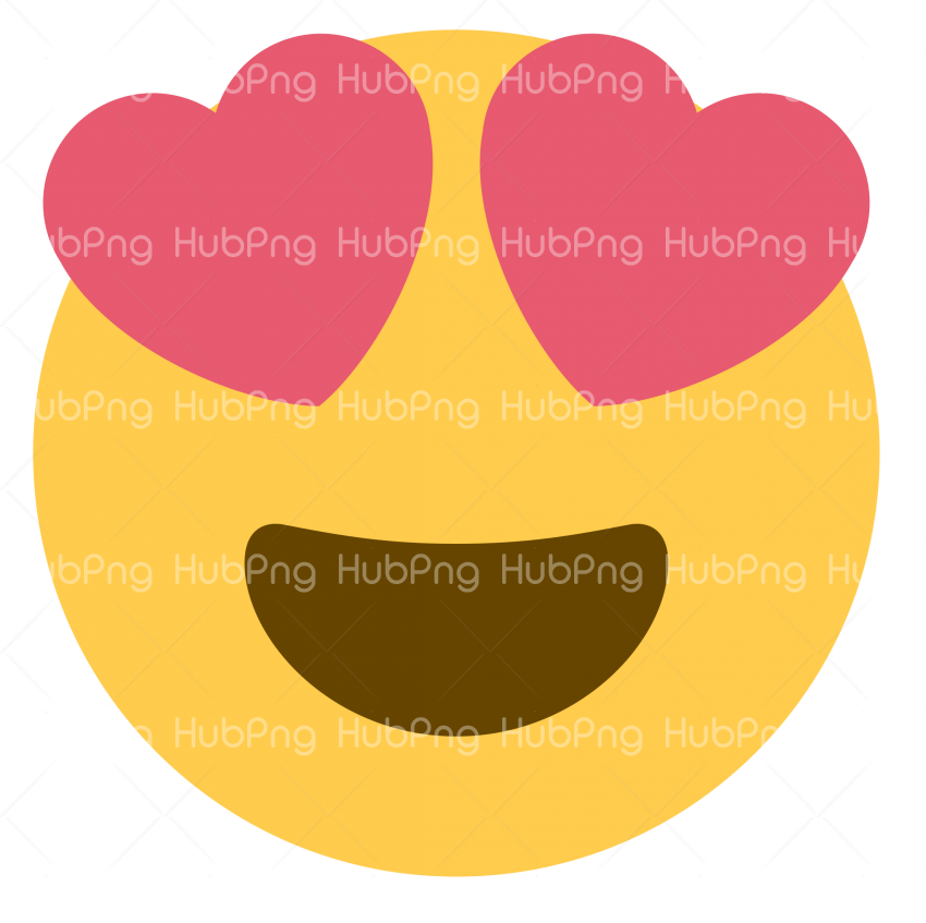 Heart emoji png vector Transparent Background Image for Free