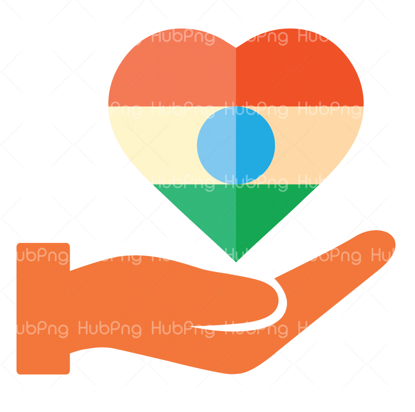 heart india republic day png Transparent Background Image for Free