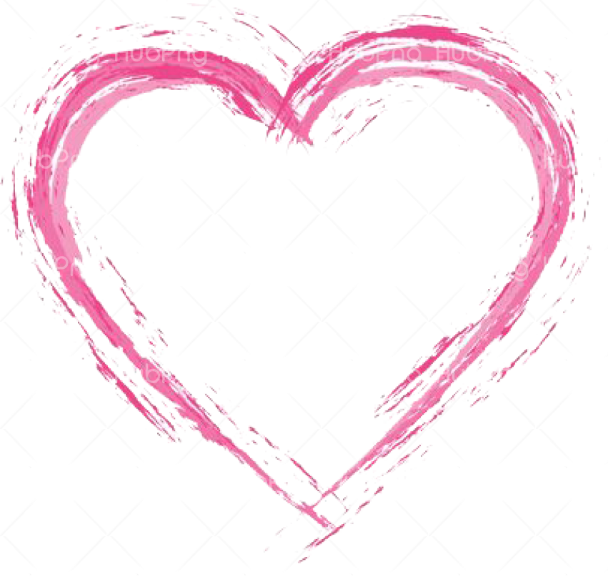 heart pink vector png Transparent Background Image for Free