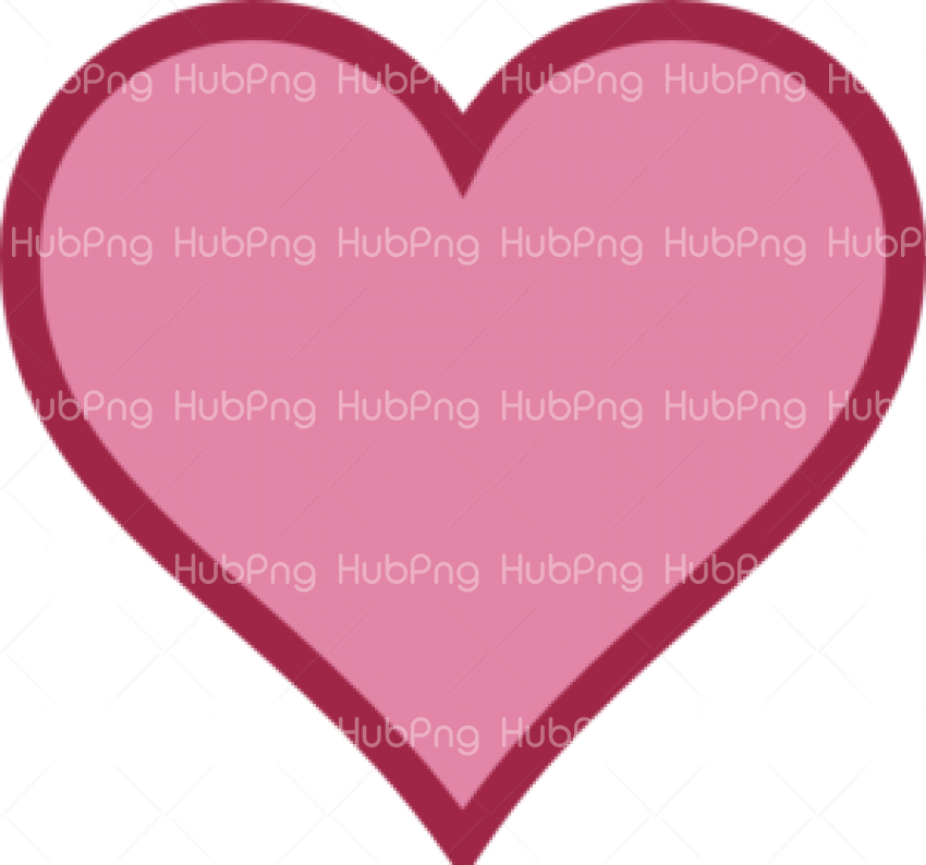 heart png pink color Transparent Background Image for Free
