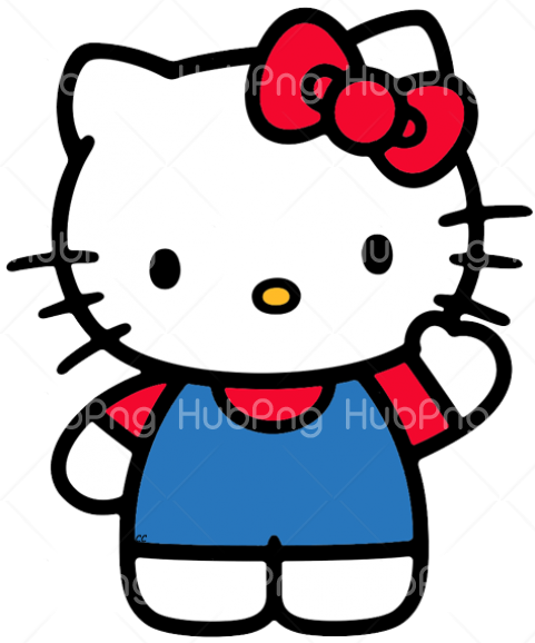 hello kitty png clipart Transparent Background Image for Free