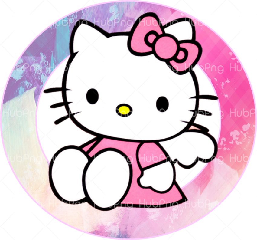 hello kitty png frame Transparent Background Image for Free