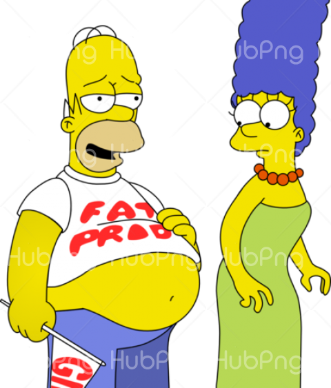 homero png marge simpson clipart Transparent Background Image for Free