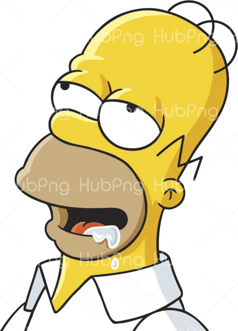 homero png simpson hd clipart Transparent Background Image for Free