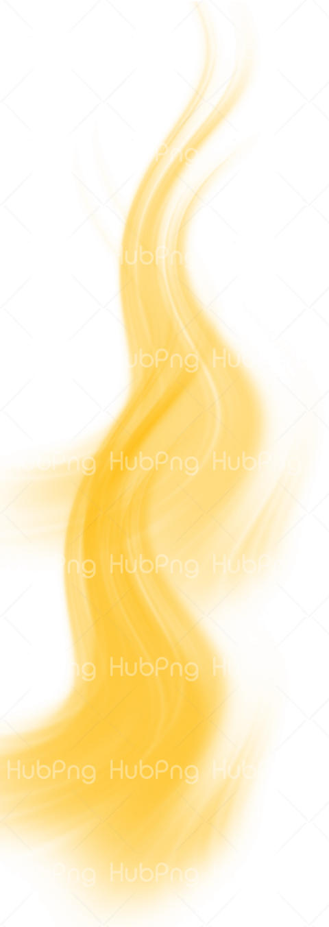humo png amarillo Transparent Background Image for Free