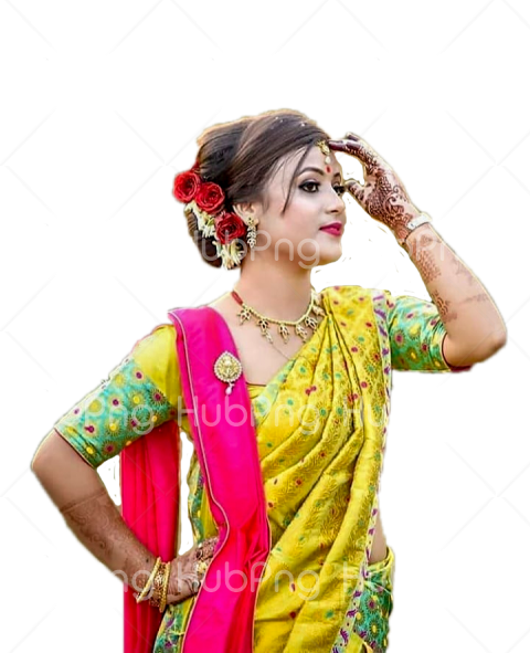 indian desi girl png image Transparent Background Image for Free