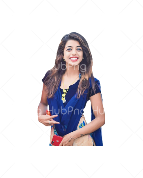 indian girl png image photoshop Transparent Background Image for Free