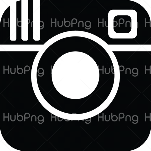instagram PNG logo black image Transparent Background Image for Free