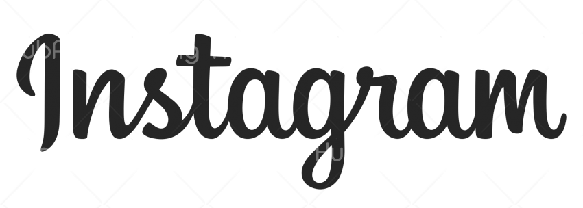 instagram PNG Text image Transparent Background Image for Free