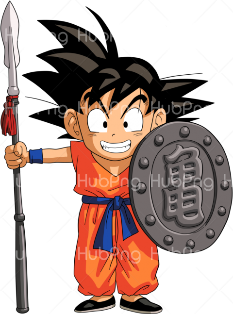 kid goku png Transparent Background Image for Free