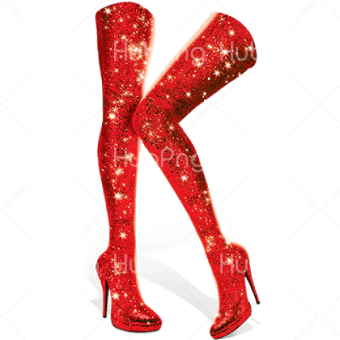 Kinky Boots Legs png red Transparent Background Image for Free