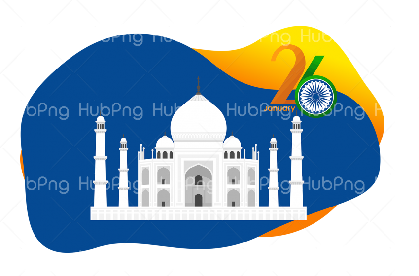 landmark mosque 26 january india republic day png Transparent Background Image for Free
