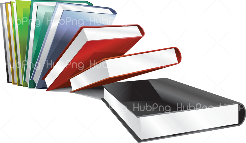 library books png Transparent Background Image for Free