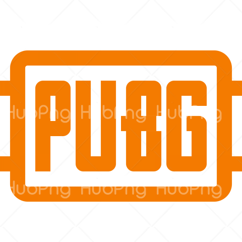 logo pubg png orange color Transparent Background Image for Free