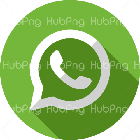 logo whatsapp png green Transparent Background Image for Free