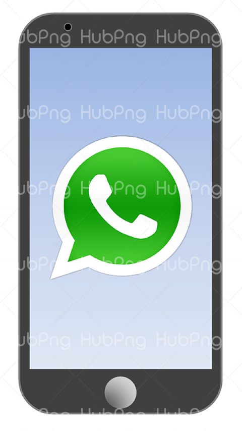 logo whatsapp png mobile Transparent Background Image for Free