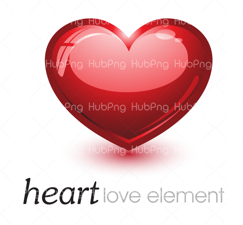 love heart png Transparent Background Image for Free