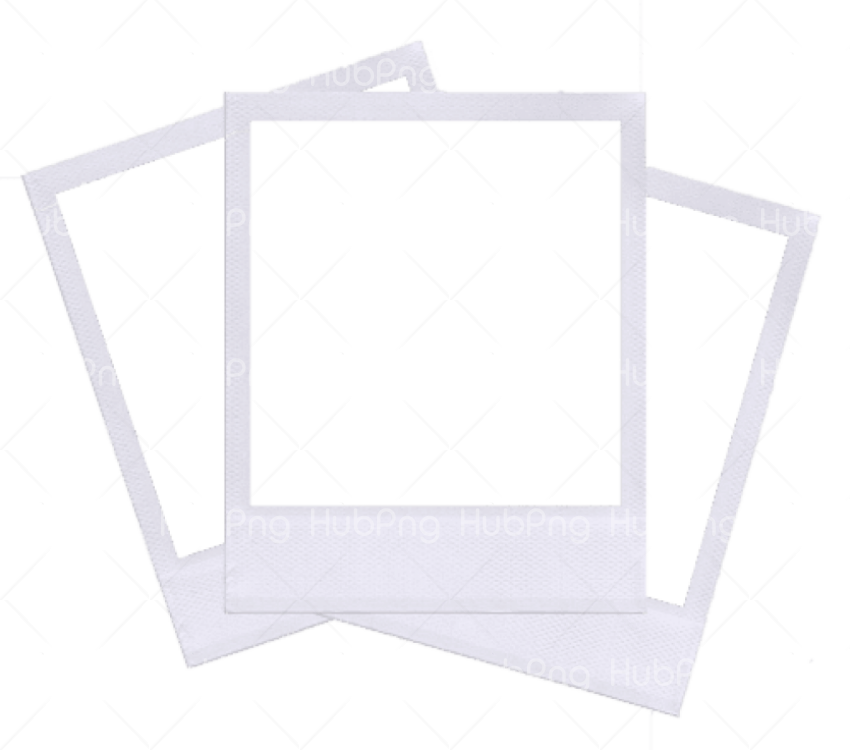 marco polaroid png frame Transparent Background Image for Free