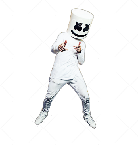 marshmello png Transparent Background Image for Free