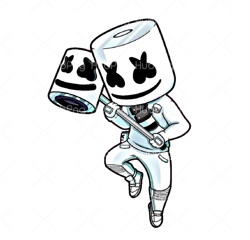 marshmello png cartoon Transparent Background Image for Free