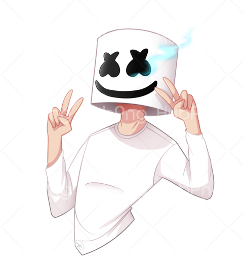 marshmello vector png Transparent Background Image for Free
