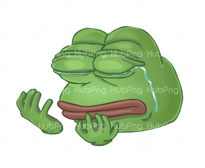 meme stickers cry Transparent Background Image for Free