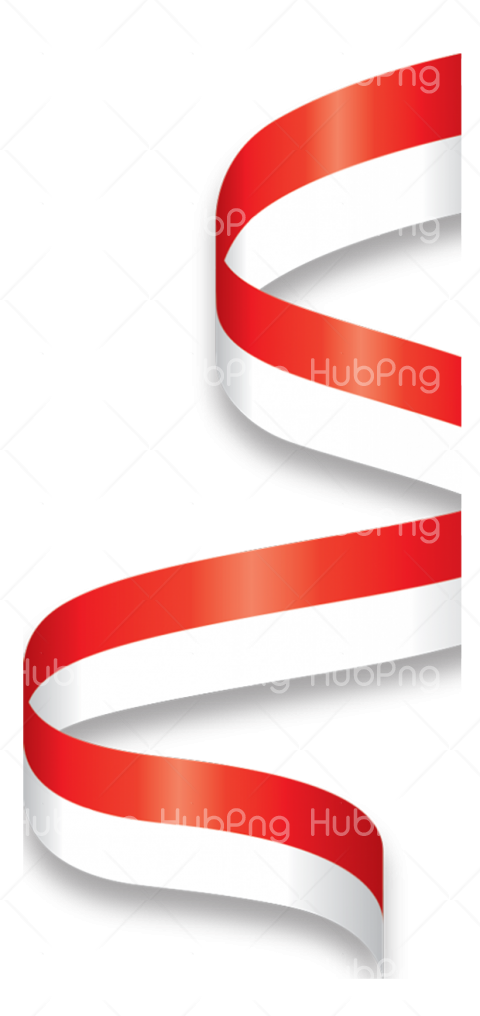 merah putih png vector Transparent Background Image for Free