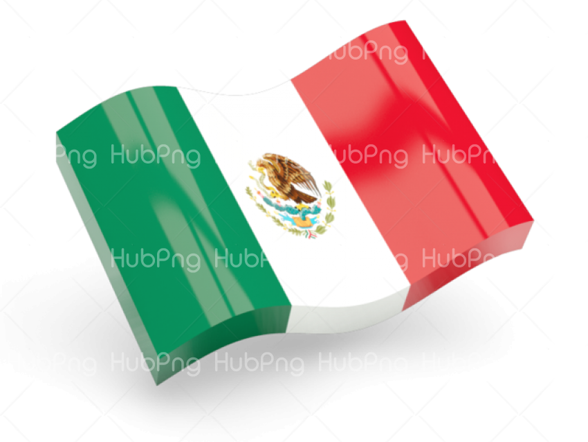 mexico flag png 3d clipart Transparent Background Image for Free