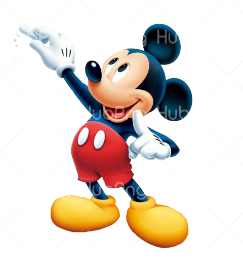 mickey mouse png cartoon Transparent Background Image for Free