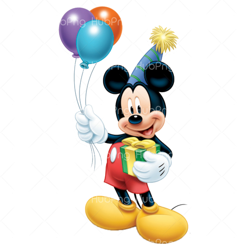 mickey mouse png hd ballon Transparent Background Image for Free
