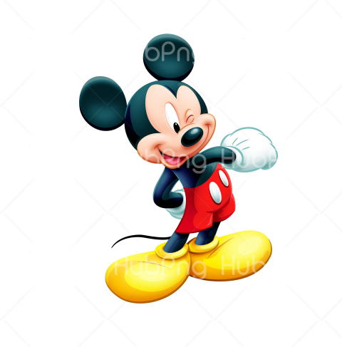 mickey mouse png vector Transparent Background Image for Free